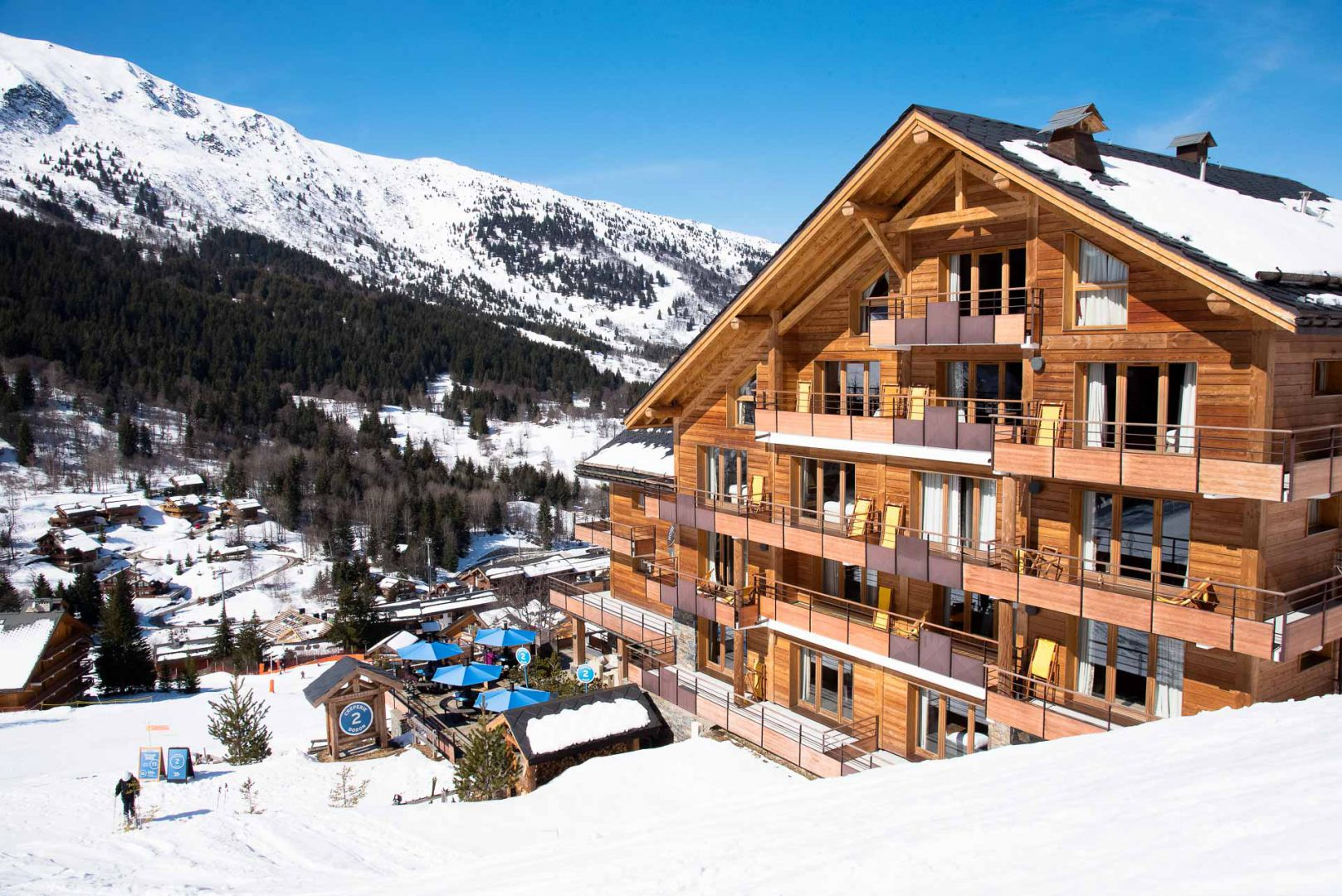 Hotel Piscine Meribel
